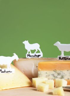 The cheese, in fact, does not stand alone.