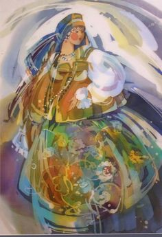 (99) Одноклассники Batik Art, Goddess Art, Silk Art, Objet D'art, Silk Painting, Conceptual Art, Female Art, Illustrators, Hand Painted