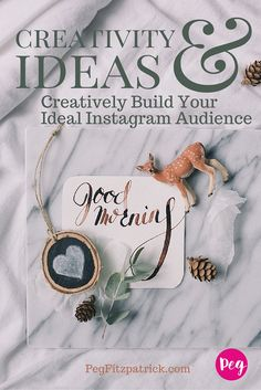 Building an audience for your small business, services, or creative business can be a challenge. Using these smart ideas, you can connect with the right people on Instagram. via @PegFitpatrick