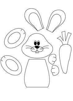 Készülj a húsvétra ezekkel a cuki, nyuszis papír sablonokkal!