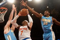 Carmelo Anthony returns to NY Knicks lineup to beat down on old team, Denver Nuggets at Madison Square Garden