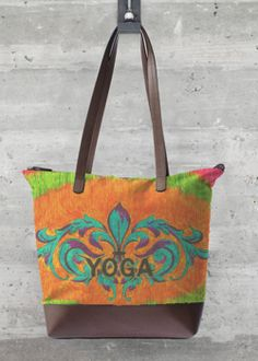 Tote Bag - Kay Duncan Yoga MC Tote by VIDA VIDA