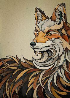 Fox by Andreas Preis // www.designerpreis.com