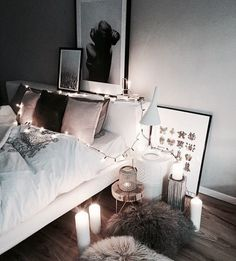 Dream Rooms Roomspiration - Decoration Home Dream Rooms, Dream Bedroom, Home Bedroom, Bedroom Decor, Bedrooms, Bedroom Furniture, Bedroom Ideas, My New Room, My Room