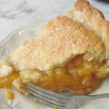 Anytime Peach Pie: King Arthur Flour - I have some frozen peaches and raspberries that I need to use up so going to try this recipe in a cast iron skillet