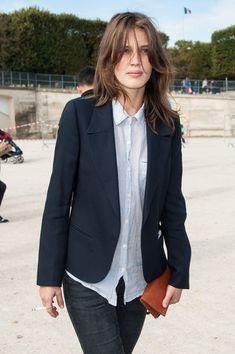 Chloe: Arrivals - Paris Fashion Week Womenswear Spring / Summer 2013