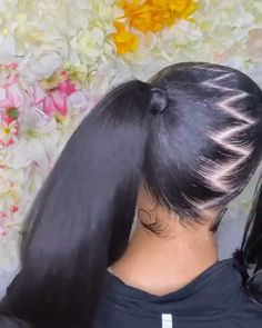 Thriving Hair Brazilian Virgin Human Hair Straight/Curly/Body Wave/Natural Wave Velcro Strap Wrap Around Ponytail For Women Clip-In Ponytail 60g-160g (P1) Baddie Hairstyles, Ponytail Hairstyles, Pretty Hairstyles, Straight Hairstyles, Girl Hairstyles, Human Hair Ponytail Extensions, Clip In Ponytail, Short Box Braids, Light Skin Girls