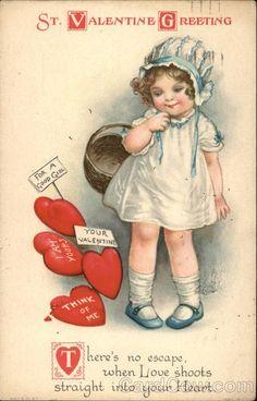 St Valentine's Greeting-artist-Ellen Clapsaddle...