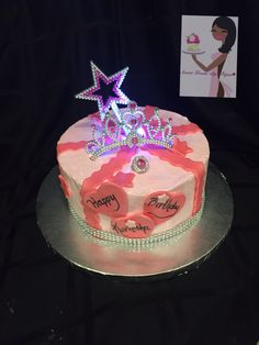 Happy Birthday Sweetiqua Sweettreatsbytiqua Nyc Bx Bronx Customcakes Cakes