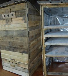 DIY Smoker- How To Build A Smokehouse From Pallets for Less than $100