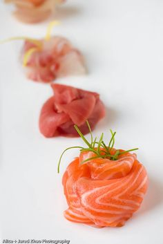 Sashimi: Okay, this I could also eat for every meal.
