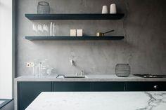 キッチンはモールテックスでほぼ決定 | 建築家と建てる・鎌倉で建てる