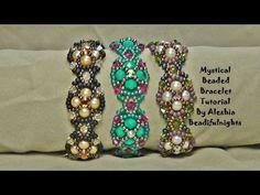 Mystical Beaded Bracelet Tutorial - YouTube