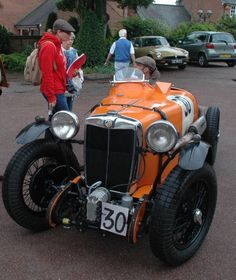 MG PA Special 1934 from Thijs de Groot British Sports Cars, Classic Sports Cars, Classic Cars, Pedal Cars, Race Cars, Mg Cars, Vintage Race Car, Exotic Cars, Sport Cars