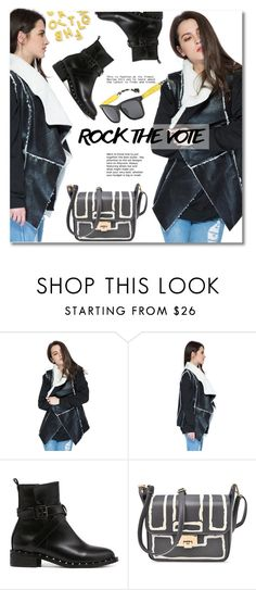 Rock the Vote in Style by svijetlana on Polyvore featuring moda, polyvoreeditorial and rockthevote