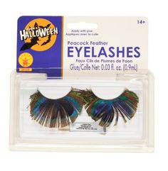 Rubies Peacock Feather Eyelashes