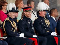 Prince Harry Attended The Household Divisions Beating Retreat At Horse Guards Parade On June