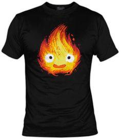 Camiseta Fire Demon - castillo ambulante