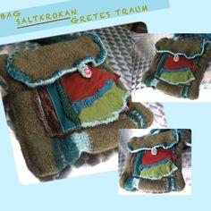 Handtasche - TASCHE, SALTKROKAN, grün,türkis, ethno - ein Designerstück von GretesTraum bei DaWanda
