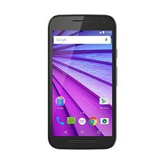 "Motorola Moto G 3a Generazione Smartphone, 5"", 4G/LTE, Fotocamera 13 MP, 16 GB, 2 GB RAM, Nero [Italia]"