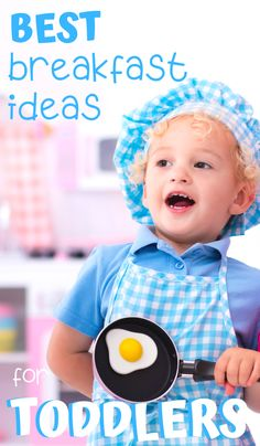 What do you feed your toddler for breakfast? If you struggle to find breakfast ideas for toddlers then you're in luck! This master list of the best breakfast ideas will give you a wide variety of breakfast options for even the pickiest toddler. Bonus ideas for getting toddlers to eat breakfast! #toddlers #toddlerlife #breakfast #breakfastideas #food #toddlerbrekfast #firstfoods #breakfastforkids #quickbreakfasts #breakfastonthego #parenting #yummy
