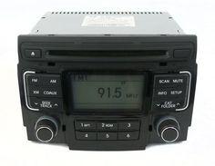 2011 Hyundai Sonata AM FM XM Radio Compact Disc Player Part Number 961803-Q0014X