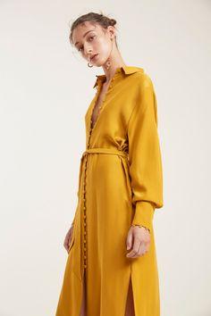 SUBSTANCE DRESS marigold