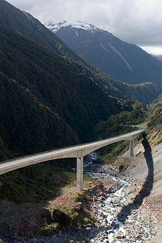Otira Viaduct, Arthurs Pass, South Island, New Zealand