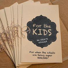 Kids Activity Coloring Book Wedding DIY Printable by cookiesandry