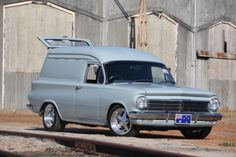◆ Visit MACHINE Shop Café... ◆ ~ Aussie Custom Cars & Bikes ~ (The 1964 EH Holden Panel Van)