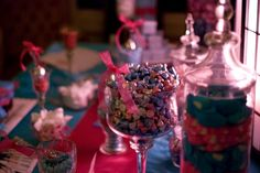 Candy Bar...pink and turquoise