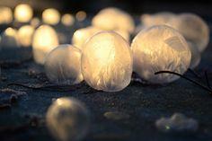 Una Madre Y Su Hijo Hicieron Burbujas Un Día Congelado. El Resultado Te Sorprenderá
