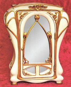 Art Nouveau Jewelry Armoire \ JV