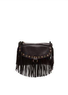 MANGO - Small fringed bag