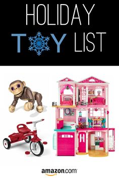 It's Here! The Amazon Holiday Toy List. Discover all the deals and make this Christmas one to remember! #christmas #holiday #gift #list #deals #amazon #toys