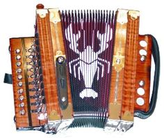 You must be Cajun if your first toy was a squeeze box. (Cajun Accordian)
