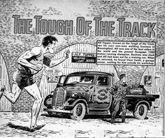 Alf Tupper - Tough of the Track - my boyhood inspiration