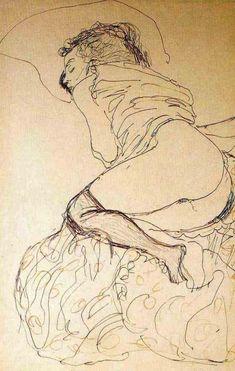 Gustav Klimt. Sans titre                                                       …