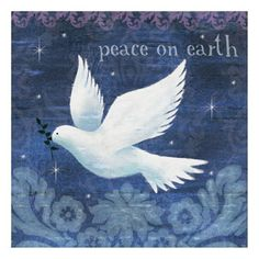 Peace by Jo Parry Bird Illustration, Illustrations, Holy Cross, Peace On Earth, Together We Can, Seville, Holy Spirit, Craft Projects, Christmas Cards
