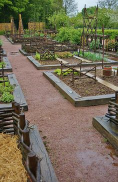 Raised beds for vegetables | by KarlGercens.com GARDEN LECTURES