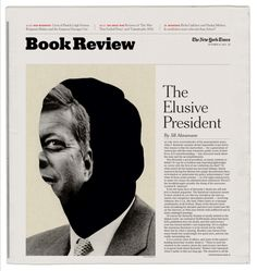 The Elusive President | Matt Dorfman | #Editorial #Layout