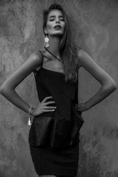 Bisous Magazine || Top - PEDRO NETO || Photography - Patrícia Ferreira || Styling - Gonçalo Subtil || Make up - Tânia Pinto || Model - Francisca Perez @ Best Models || Styling Assistant - Carolina Franco