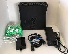Microsoft XBOX 360 Slim 4GB with 20GB Hard Drive and PDP Rock Candy Controller #Microsoft