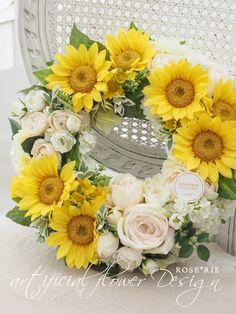 カラーご指定でのオーダー:リース♡の画像 | ROSE'RIE Flower Power, Flower Arrangements, Floral Wreath, Easter, Wreaths, Bridal, Rose, Flowers, Wedding