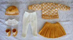 Malfrid Gausel patterns for Am Girl Doll  http://www.doll-knitting-patterns.com/0019-knitting-doll-patterns.html