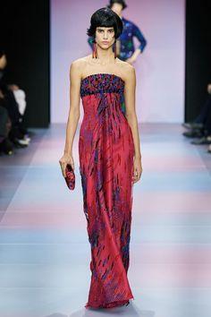 Armani Privé Spring 2020 Couture Fashion Show - Trend Designer Dresses Indian 2019 Style Haute Couture, Spring Couture, Couture Fashion, Fashion 2020, Runway Fashion, Fashion Show, Fashion Outfits, Fashion Weeks, London Fashion