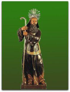 São Francisco de Paula, Aleijadinho - século XVIII. Madeira policromada, 94 cm de altura. Acervo do Museu de Arte de São Paulo, São Paulo