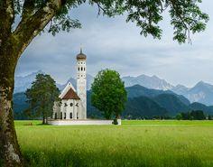 "chuckpalmerphotos: "" On the Romantic Road - Fussen, Germany Flickr URL - http://ift.tt/1nYCVLm """