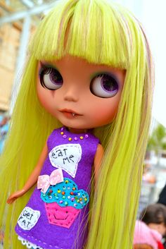 little monster by cybermelli, via Flickr