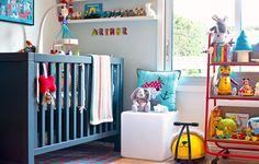 La chambre bébé d'Arthur